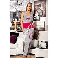 Женская пижама Shirly 4818, костюм домашний с брюками