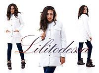 Куртка на синтепоне белая