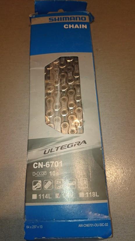 Цепь Shimano Ultegra CN-6701 (10 передач.)