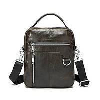 Кожаная мужская сумка. Стильная сумка. Высокое качество. Низкая цена. Интернет магазин. Код: КЕ141