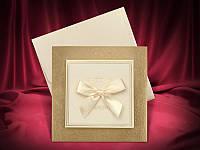 Оригинальные пригласительные на свадьбу в золотом цвете, свадебные приглашения, заказать