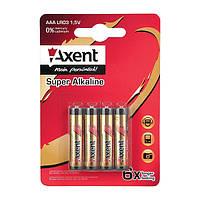 Элемент Axent питания AXENT АА LR6 1,5, 4 шт. (Лужный)
