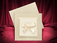 Оригинальные пригласительные на свадьбу цвета айвори, свадебные приглашения, заказать