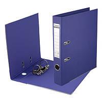 Папка-регистратор Axent двухстах, Престиж, РР 7,5cм, соб, фиолетовая