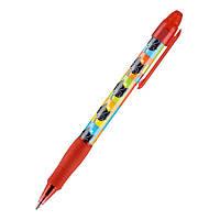 Ручка Axent шариковая автоматическая Catsline, синяя