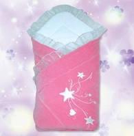 """Плед-конверт для новорожденных """"Звездочка"""""""