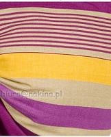 Слинг- переноска для детей womar Banana 11 Zafiro ( цвет № 18 ( сиренево-желто-бежевая полоска ))