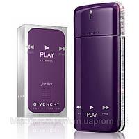 Женская туалетная вода Givenchy Play Intense for Her (яркий, смелый цветочно-пряный аромат)  AAT