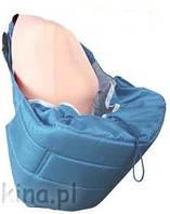 Кенгуру - слинг для переноски детей Banana №11 standart ( темно-голубой ) Womar