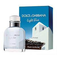 Мужская туалетная вода Light Blue Living Stromboli Dolce&Gabbana (свежий, чувственный аромат)  AAT