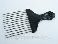 Гребень для волос с длинными редкими металлическими зубьями Y.R.E №C818L