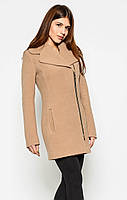 Женское демисезонное  пальто  из  кашемира X-Woyz-8537
