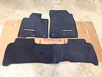 Коврики велюровые передние задние чёрные Toyota Land Cruiser 200 новые оригинал