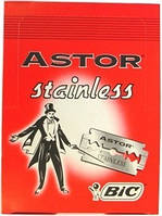 Классические лезвия Astor Stainless Bic, 100 лезвий в упаковке GIL /09 N