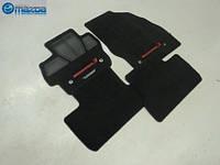Mazda 3 коврики велюровые чёрные MazdaSpeed 2009-14 новые оригинал