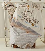 Детское постельное белье в кроватку  KARACA HOME  DONKEY'S WORLD