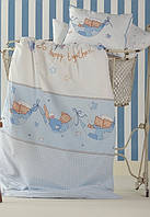 Детское постельное белье в кроватку  KARACA HOME MEL с мишками