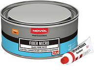 Шпатлевка со стекловолокном микро Novol FIBER MICRO 1,8 кг