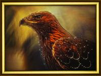 КС-1072 Зоркая птица Набор для изготовления картины со стразами Crystal Art