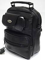 Мужская кожаная сумка через плечо GOLD CORAL 549 Индия
