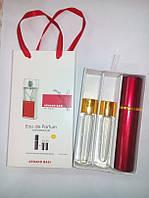 Мини парфюм с феромонами Armand Basi in Red White в подарочной упаковке 3 x 15 ml