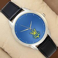 Часы Україна, серебристый корпус