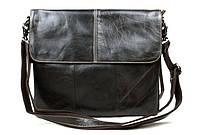 Мужская кожаная сумка-портфель. Сумка для документов, ноутбука. Высокое качество. Доступная цена. Код: КЕ152
