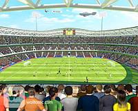 Детские фотообои Walltastic Невероятный футбол (Великобритания)