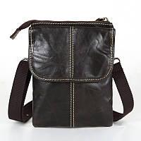 Мужская компактная сумка. Высокое качество. Кожаная сумка. Доступная цена. Интернет магазин сумок. Код: КЕ154