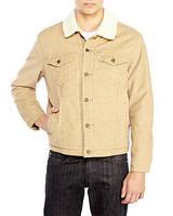 Куртка мужская Levis теплая вельвет