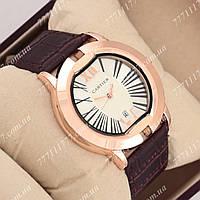 Часы наручные мужские Cartier 345 Brown\ Purple\Silver
