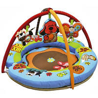 Детский коврик K's Kids с дугами и подушками Круг Любви (10660)
