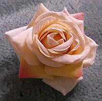 Красивая чайная роза брошь-заколка от студии LadyStyle.Biz