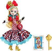 Кукла Ever After High Way Too Wonderland Apple White Эппл Вайт