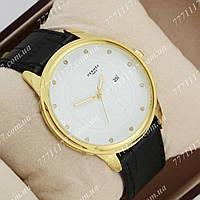 Часы наручные мужские Hermes 378 Black\Gold\White