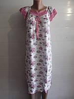 Бамбуковая ночная рубашка с крылышком