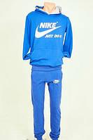 Спортивный мужской костюм NIKE (осень,зима) - синий