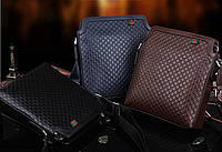 Красивая мужская сумка. Высокое качество. Кожаная сумка. Доступная цена. Интернет магазин сумок. Код: КЕ159
