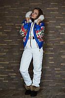 Женский зимний костюм (куртка+комбез), разные цвета