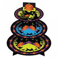 Подставка под пироженные Хэллоуин 090316-018