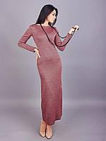 Красивое роскошное длинное женское платье