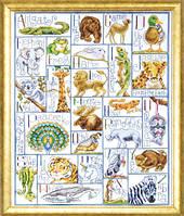 """Набор для вышивки крестом """"Алфавит животных"""" (Animal ABC)"""