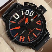 Часы наручные мужские U-boat Italo Fontana Classico Black\Black\Orange