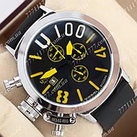 Часы наручные мужские U-boat Italo Fontana U-1008 Silver\Black\Yelloy