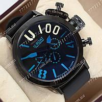 Часы наручные мужские U-boat Italo Fontana U-1001 Black\Black-blue