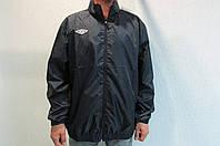 Мужская спортивная куртка Umbro 413013 темно синяя код 194б