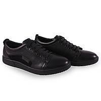Модные мужские туфли кож+замш Basconi