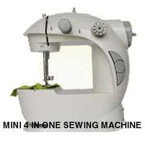 Мини швейная машинка 4 в 1 качество