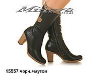 Женские красивые сапожки на каблуках
