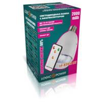 Лампа LogicPower LP-8201R LiT 2000мАч Цоколь E27 п5, фото 1